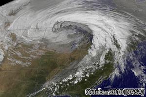 October 2010 Midwest Storm (NASA)