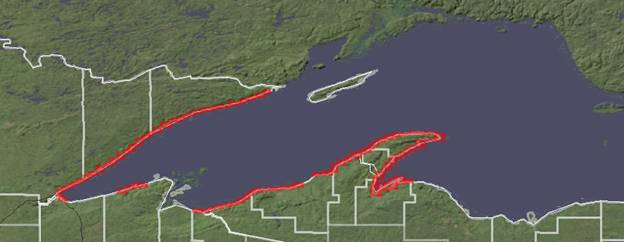 NOAA Lake Superior Lidar